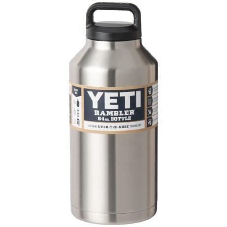 YETI Rambler Bottle - 64 oz., Stainless Steel