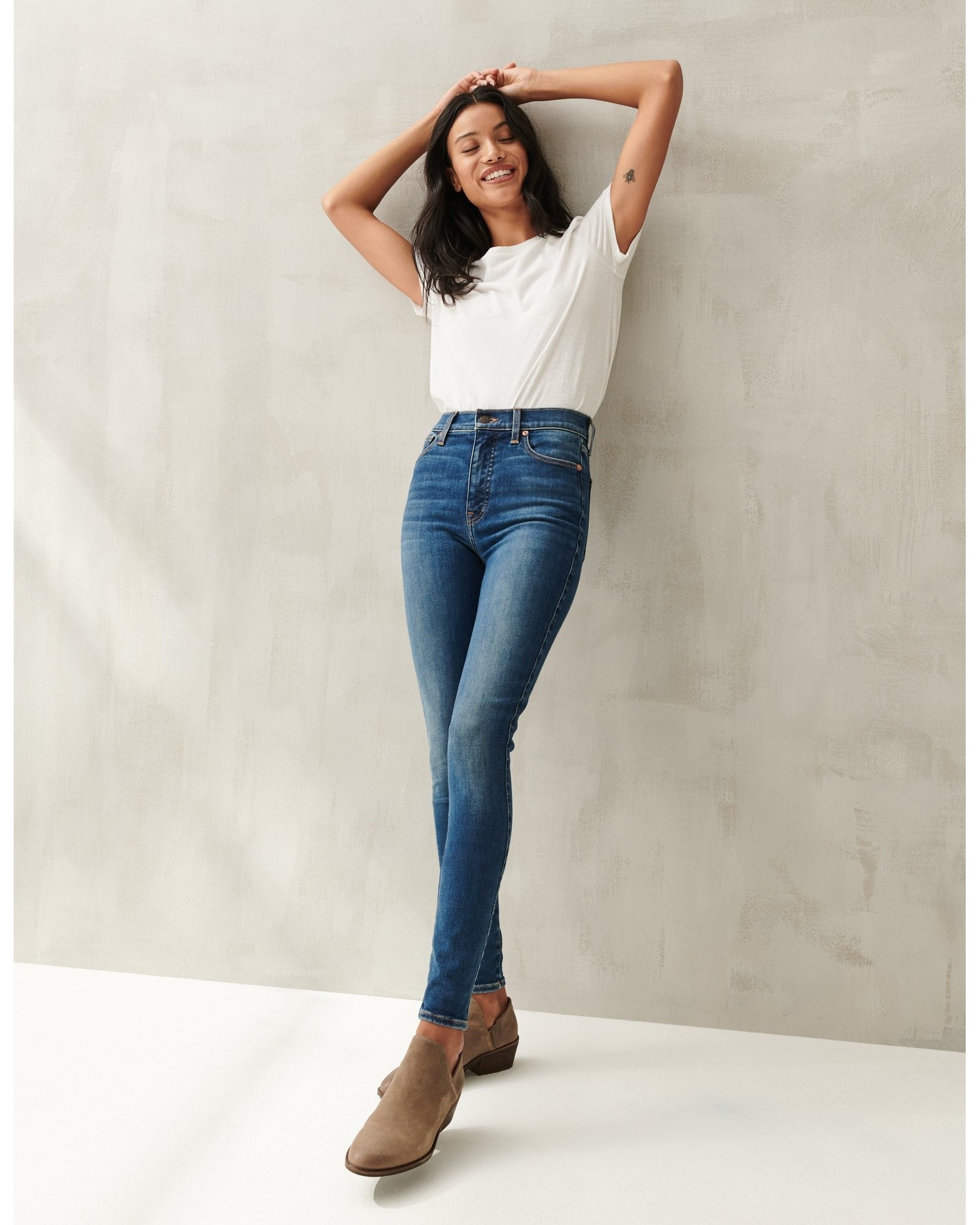 Uni Fit High Rise Skinny Jean