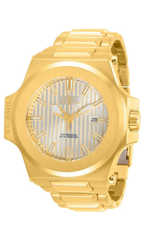 Invicta Men's 30136 Akula Automatic 3 Hand Champagne Dial Watch